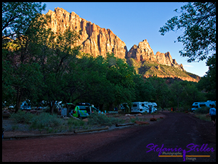 Sunset Zion