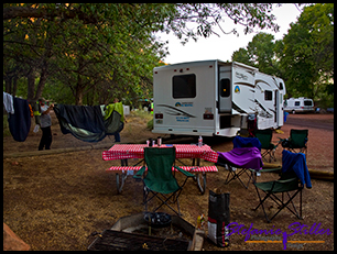 Campsite Watchman Campground